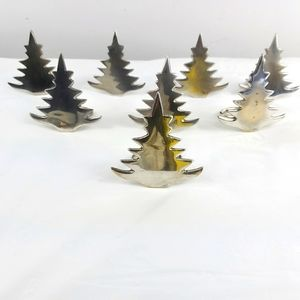 Christmas tree Abbott collection napkin rings